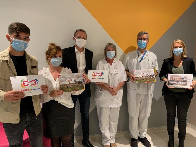 L'association Coeur 2 Poumons remet son calendrier 2021 à la